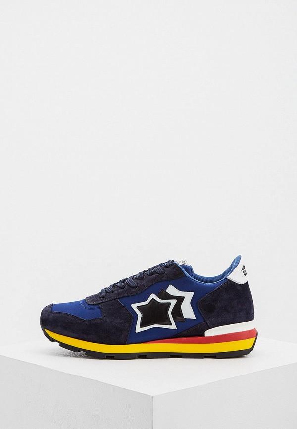 мужские низкие кроссовки atlantic stars, синие