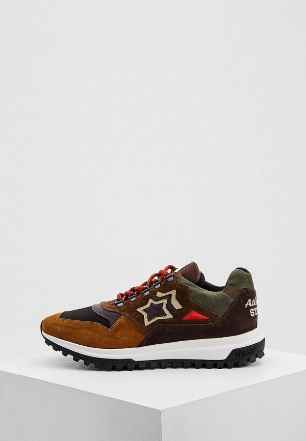 мужские кроссовки atlantic stars, коричневые