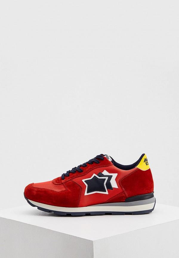 мужские кроссовки atlantic stars, красные