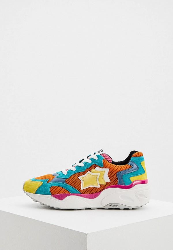 женские кроссовки atlantic stars, разноцветные