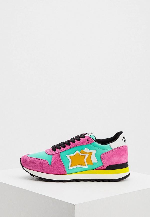 женские низкие кроссовки atlantic stars, разноцветные