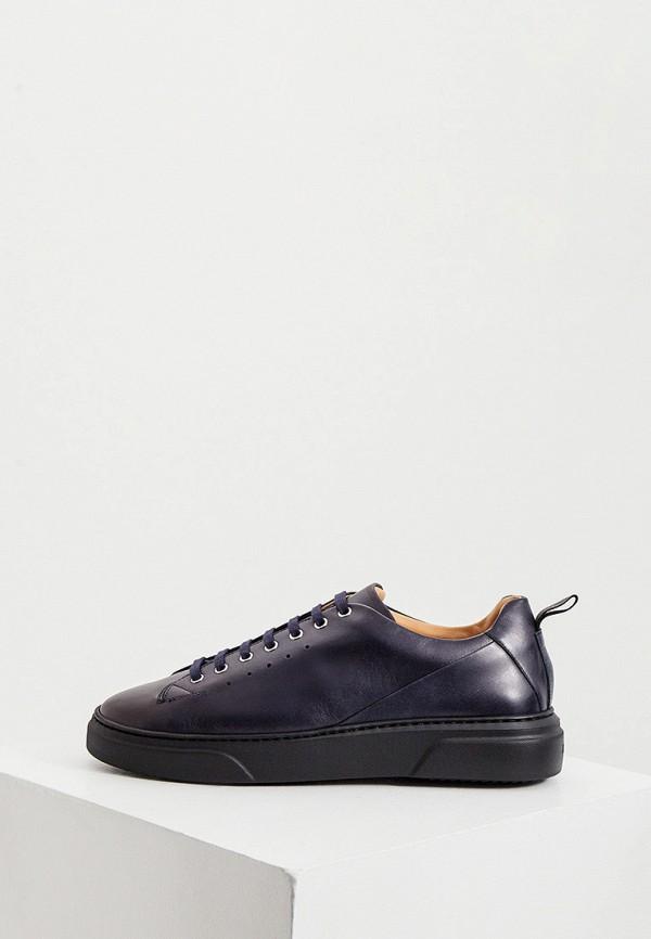 мужские ботинки a.testoni, синие