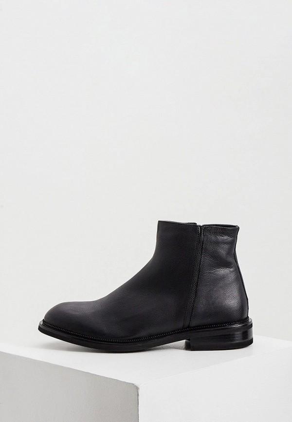 мужские ботинки a.testoni, черные