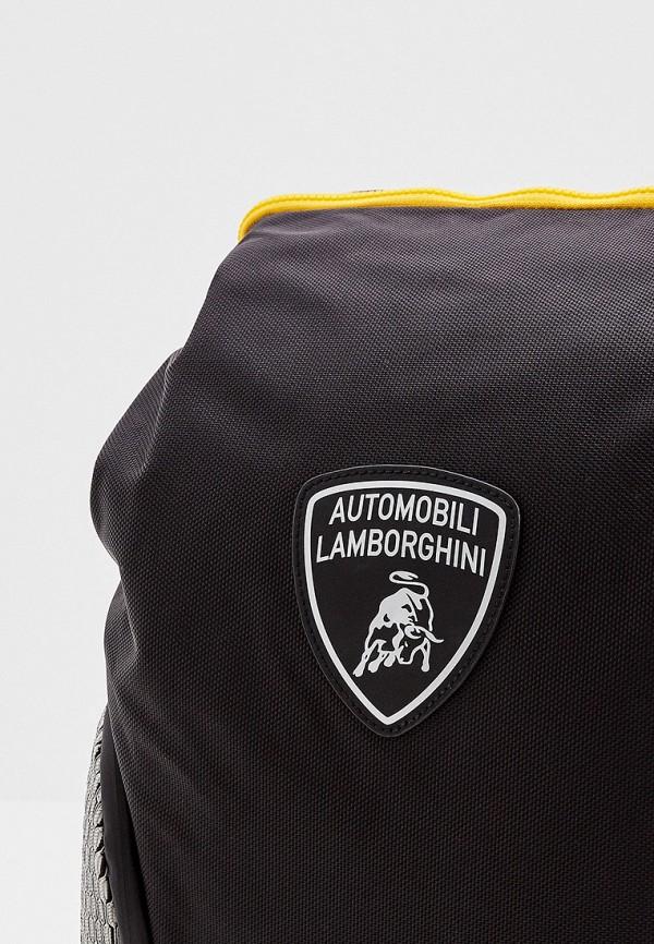 Фото 3 - Мужской рюкзак Automobili Lamborghini черного цвета