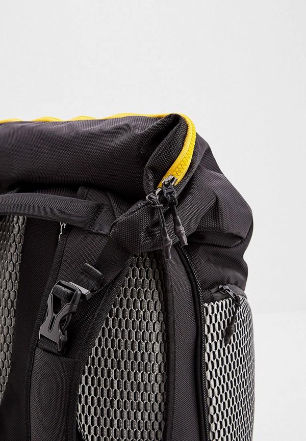 Фото 4 - Мужской рюкзак Automobili Lamborghini черного цвета