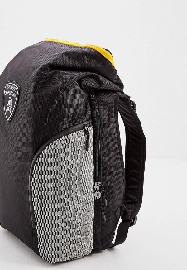 Фото 5 - Мужской рюкзак Automobili Lamborghini черного цвета