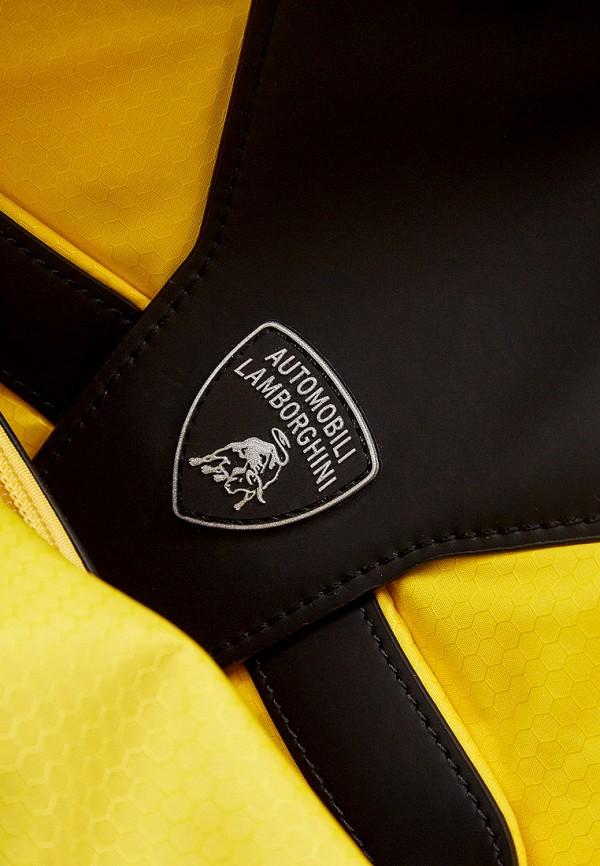 Фото 6 - Мужской рюкзак Automobili Lamborghini черного цвета