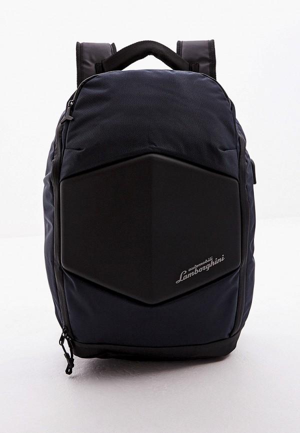 мужской рюкзак automobili lamborghini, синий