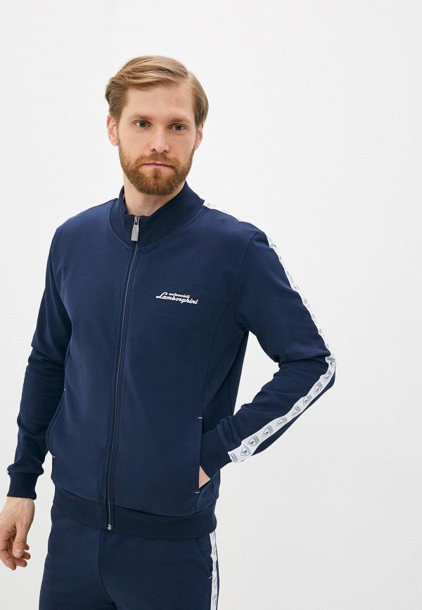 мужские спортивные брюки automobili lamborghini, синие