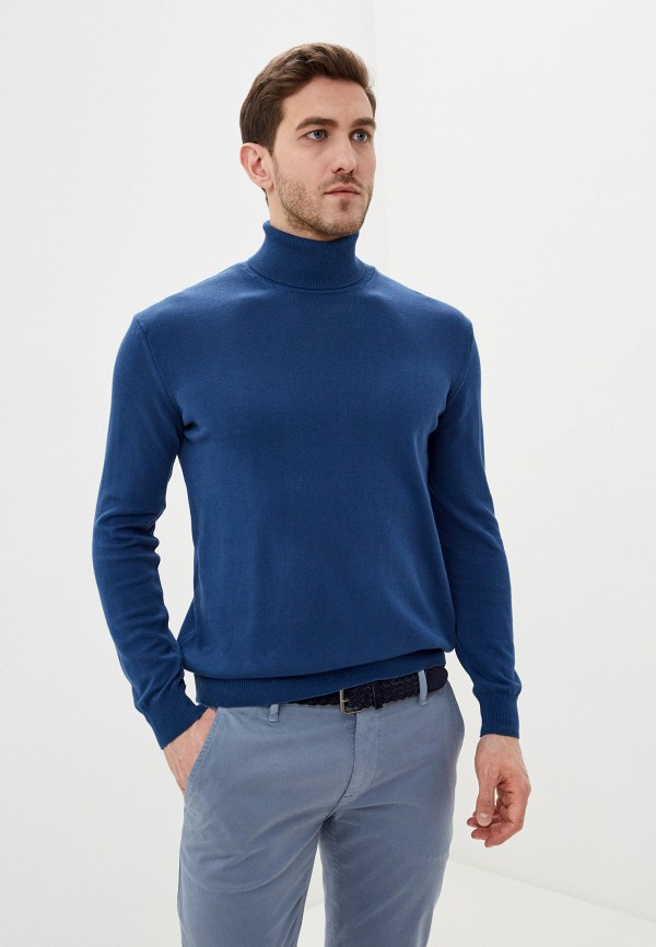 мужская водолазка auden cavill, синяя