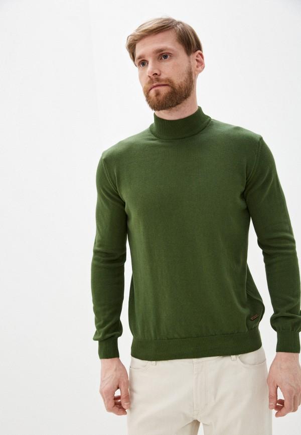 мужская водолазка auden cavill, зеленая