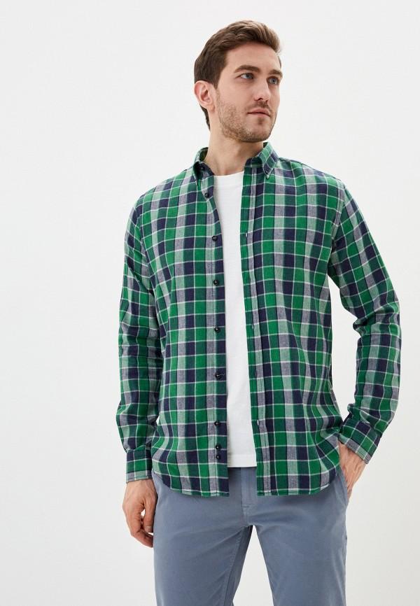 мужская рубашка с длинным рукавом auden cavill, зеленая