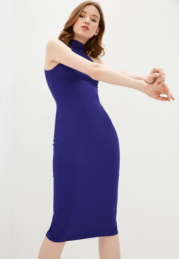 женское платье-футляр auden cavill, синее