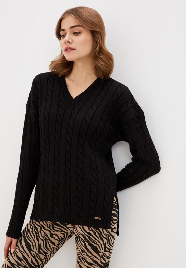 женский пуловер auden cavill, черный