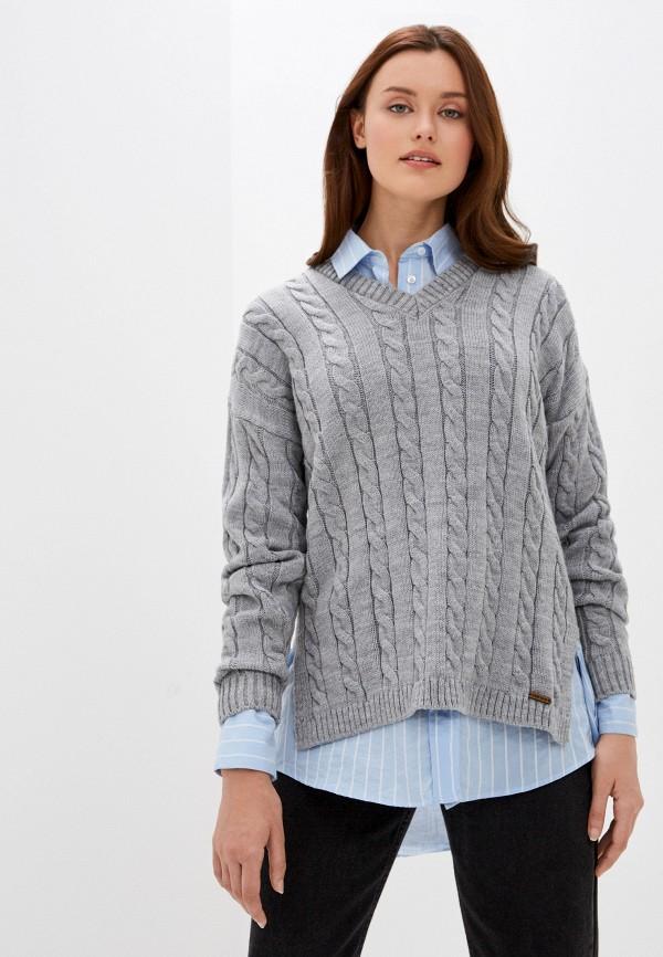 женский пуловер auden cavill, серый