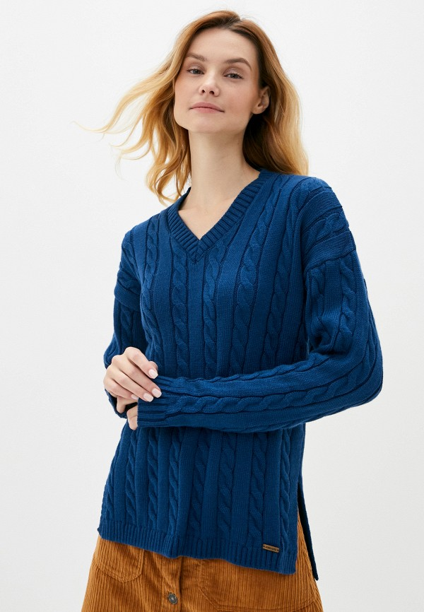 женский пуловер auden cavill, синий