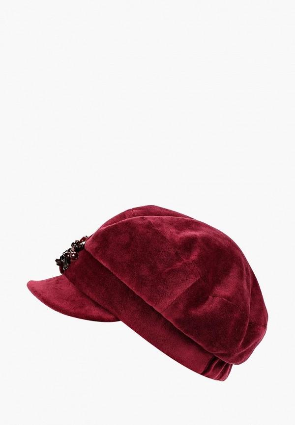 женская кепка avanta, бордовая