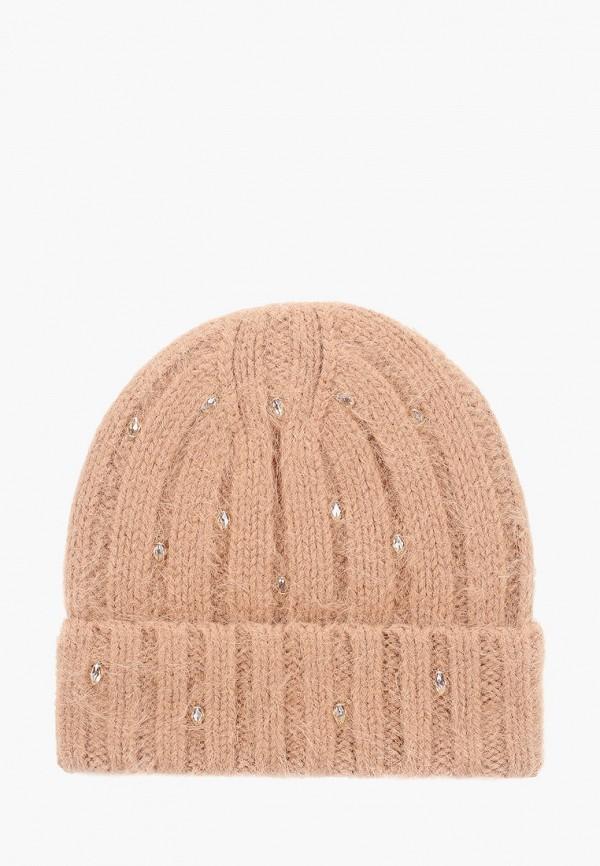женская шапка avanta, бежевая