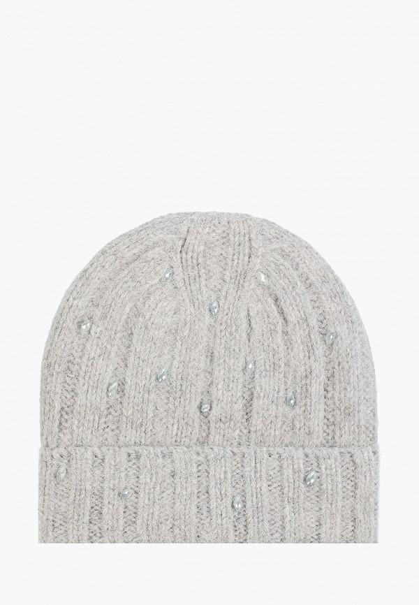 женская шапка avanta, серая