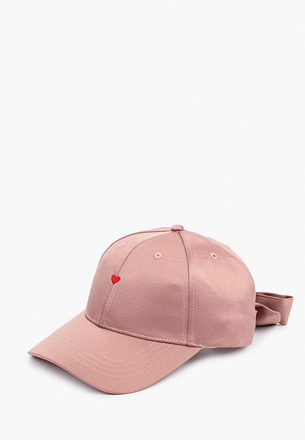 женская бейсболка avanta, розовая
