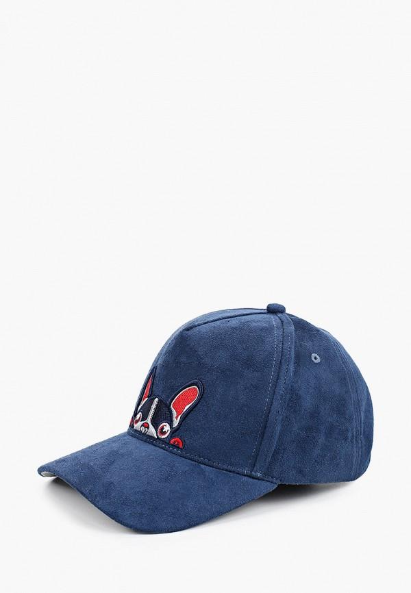 женская бейсболка avanta, синяя