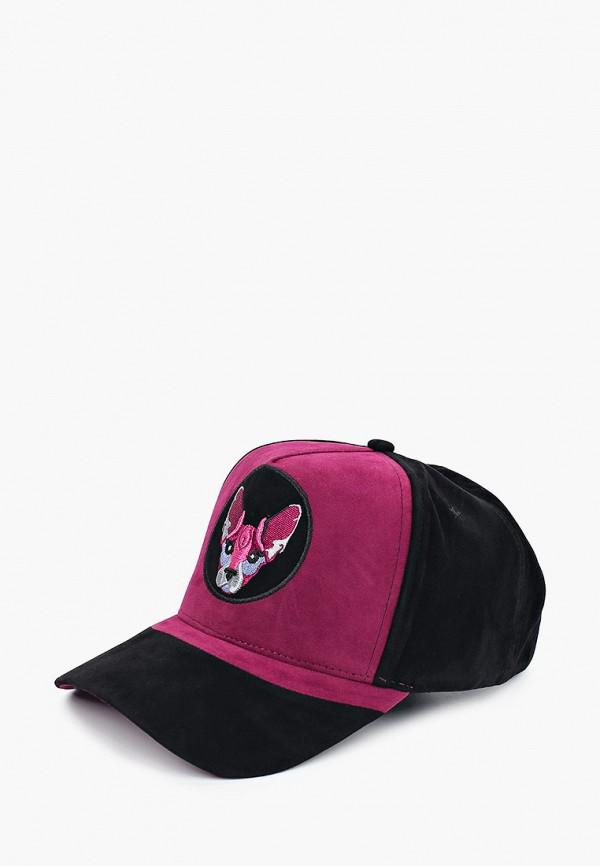 женская бейсболка avanta, черная