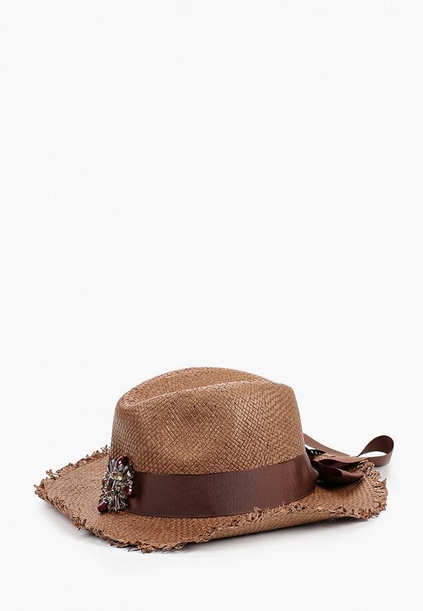 женская шляпа avanta, коричневая