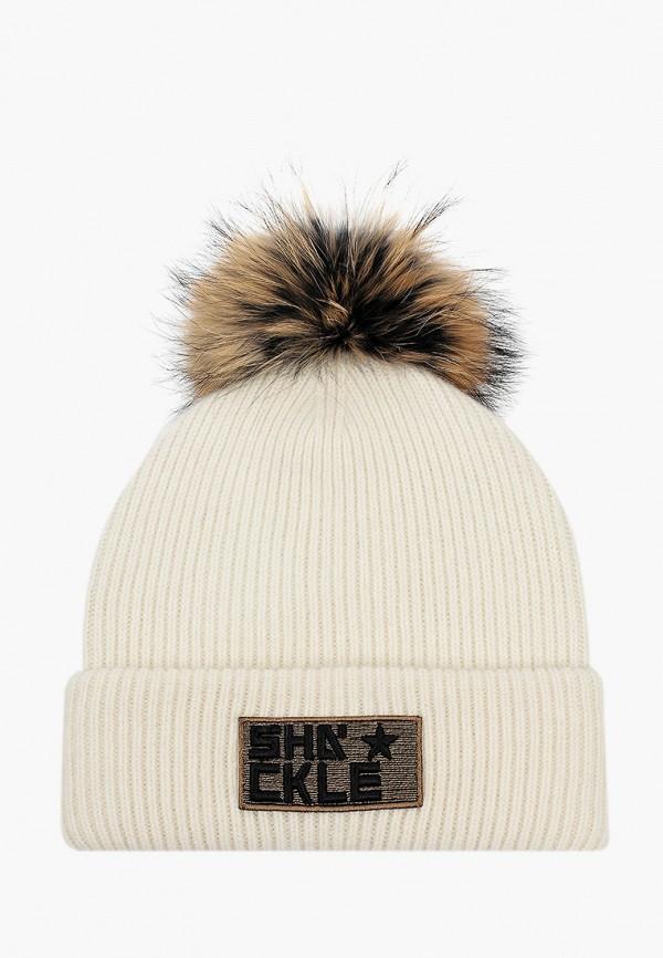женская шапка avanta, белая