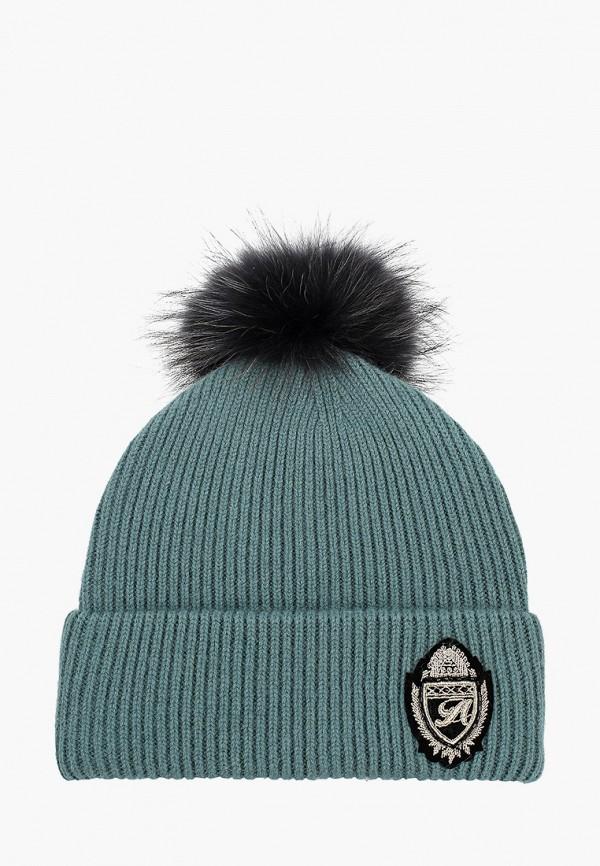 женская шапка avanta, бирюзовая