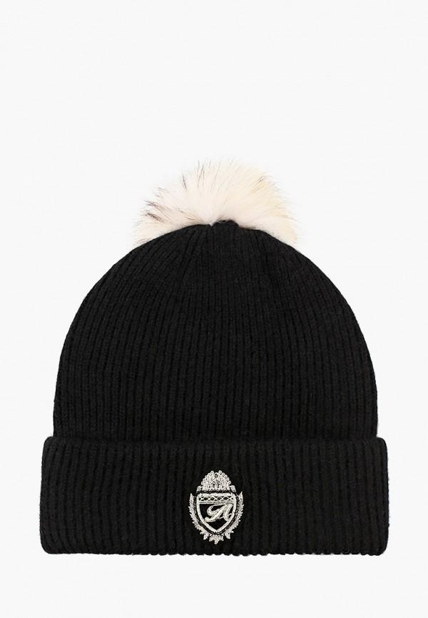 женская шапка avanta, черная