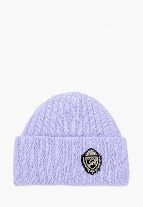 женская шапка avanta, фиолетовая
