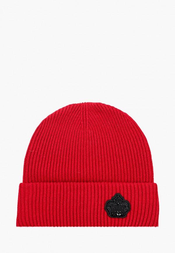 женская шапка avanta, красная