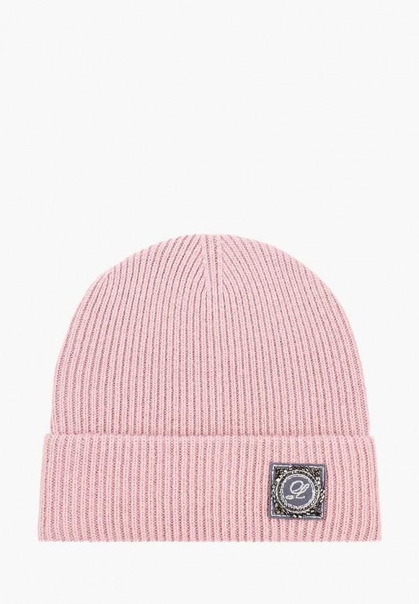 женская шапка avanta, розовая