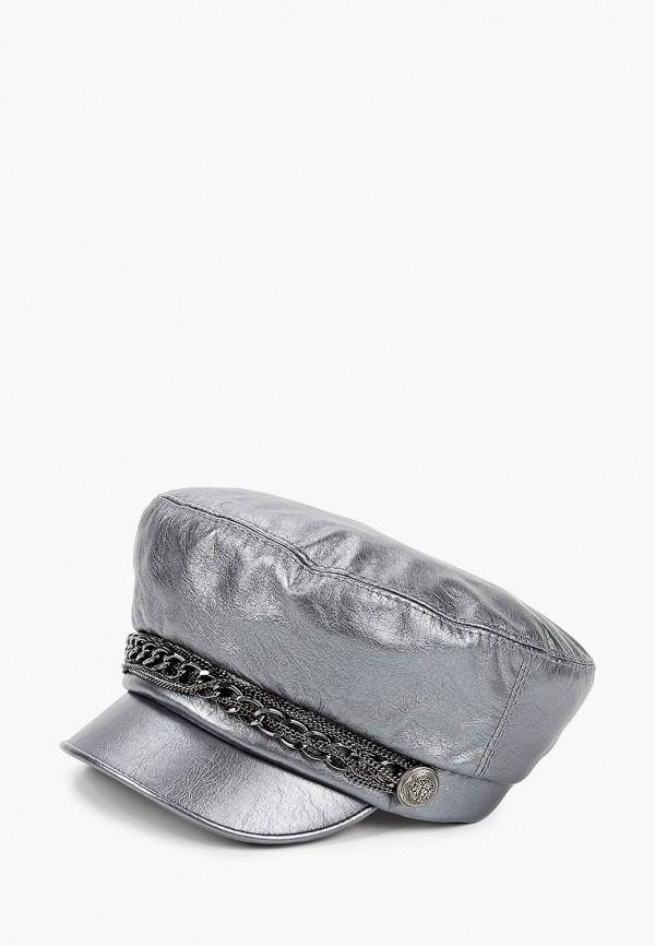 женская кепка avanta, серебряная