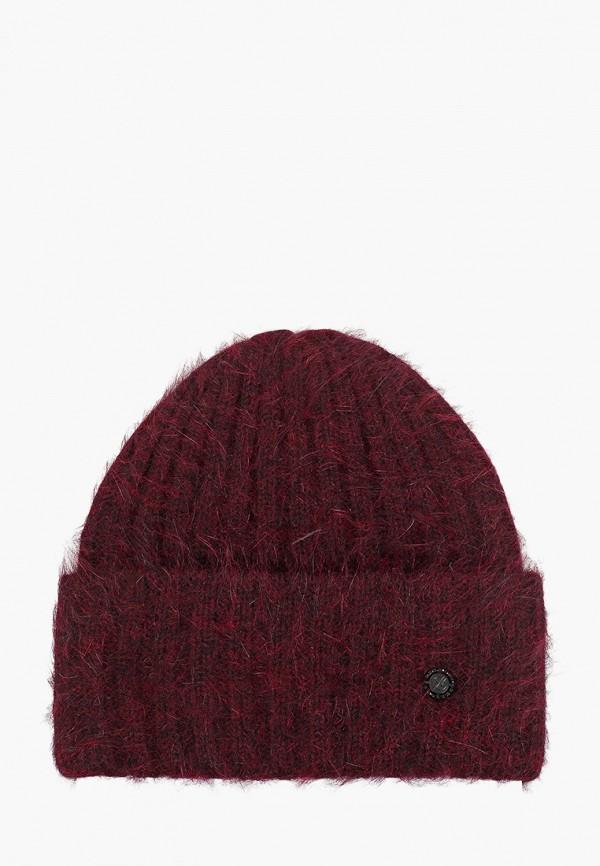 женская шапка avanta, бордовая
