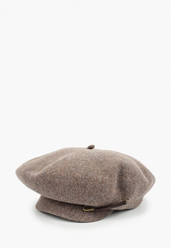 женская кепка avanta, коричневая