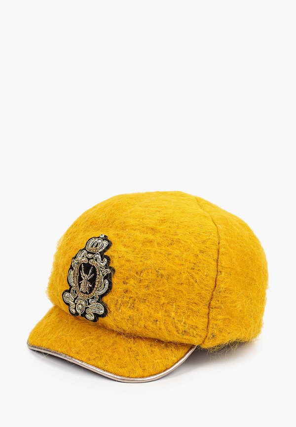 женская кепка avanta, желтая
