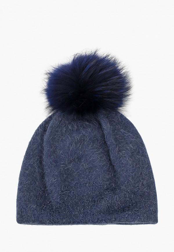 женская шапка avanta, синяя