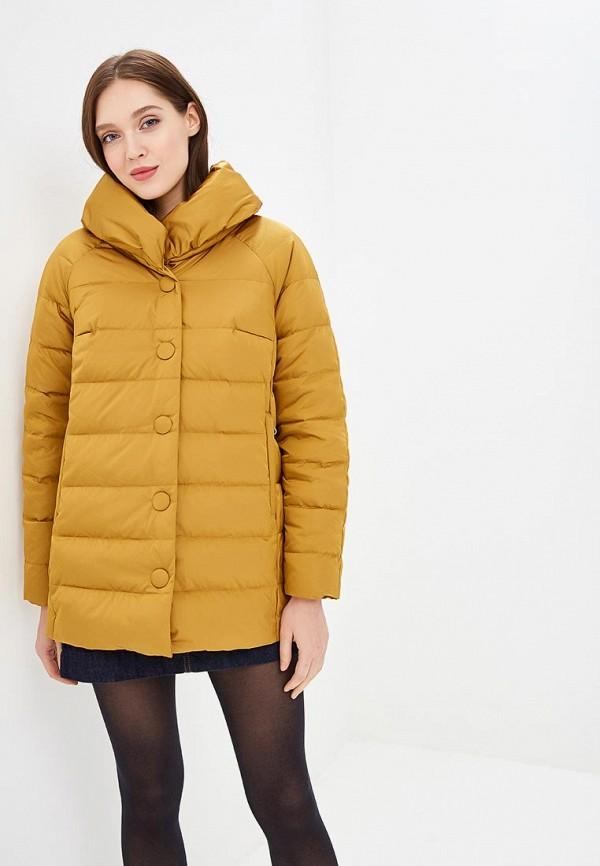 Купить Пуховик Dixi-Coat, Dixi-Coat AV011EWDBOX6, желтый, Осень-зима 2018/2019