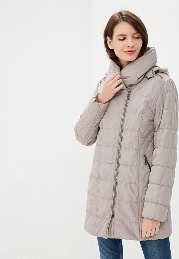 Купить Куртка утепленная Dixi-Coat, Dixi-Coat AV011EWDBOY5, бежевый, Осень-зима 2018/2019