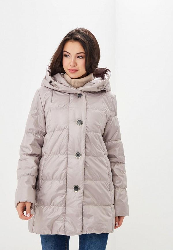 Купить Куртка утепленная Dixi-Coat, Dixi-Coat AV011EWDBPA4, бежевый, Осень-зима 2018/2019