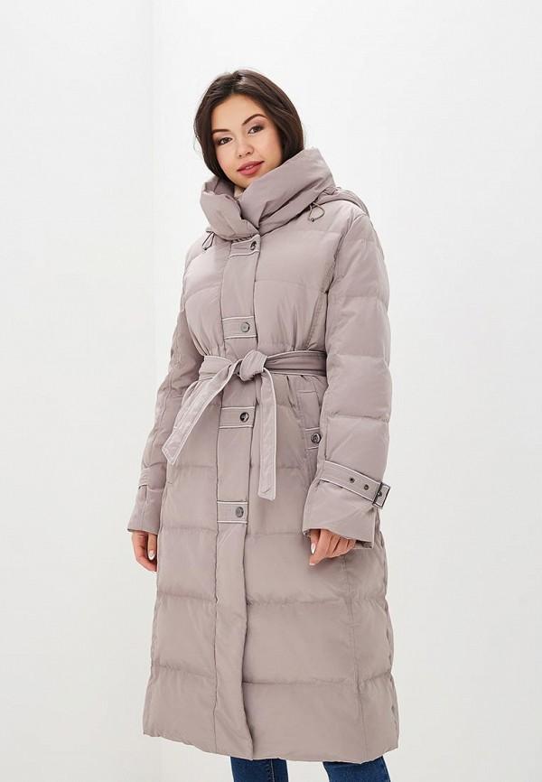 Купить Пуховик Dixi-Coat, Dixi-Coat AV011EWDBPA5, бежевый, Осень-зима 2018/2019