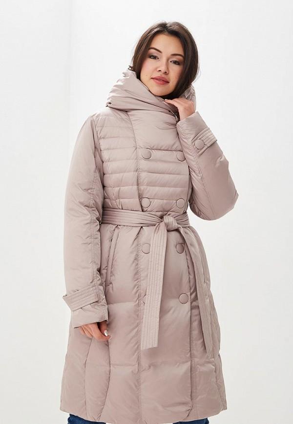 Купить Пуховик Dixi-Coat, Dixi-Coat AV011EWDBPB3, бежевый, Осень-зима 2018/2019