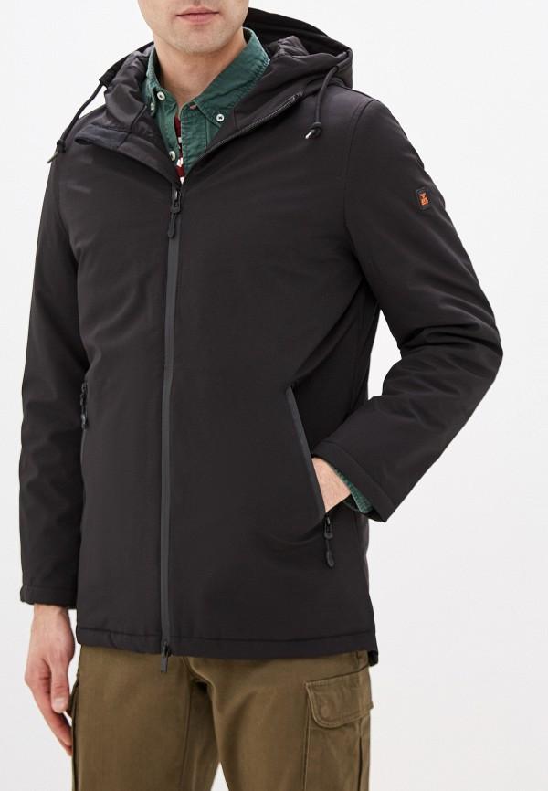 мужская куртка avirex, черная