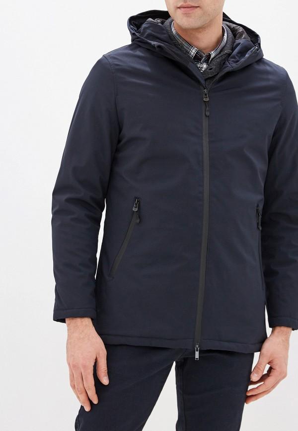 мужская куртка avirex, синяя