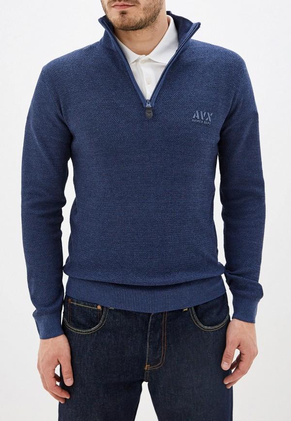 мужской свитер avirex, синий