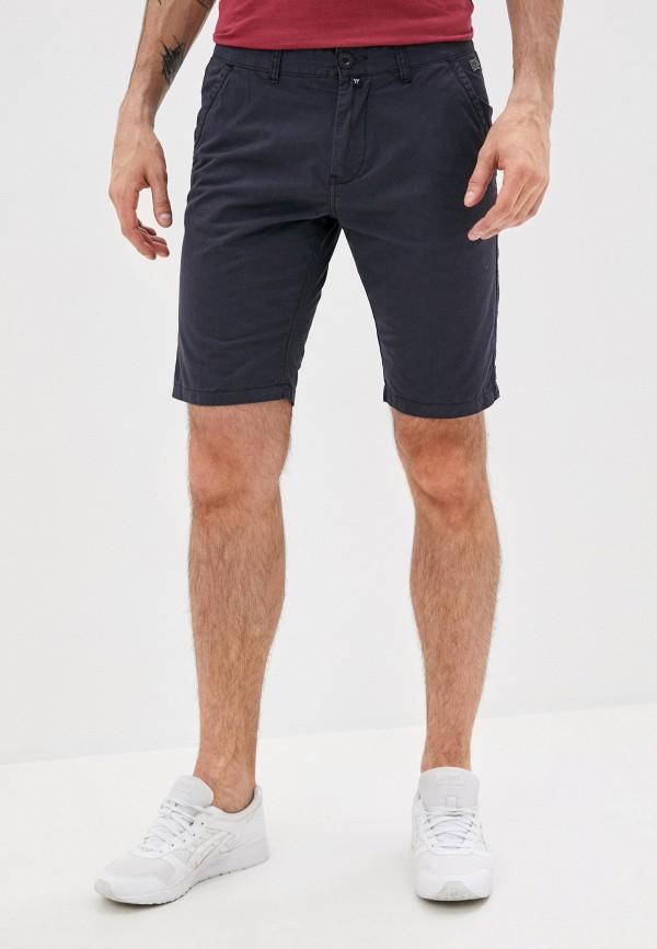 мужские повседневные шорты avirex, синие