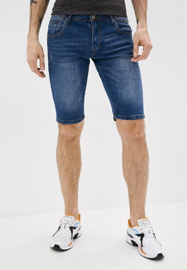 мужские джинсовые шорты avirex, синие