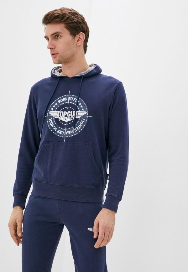 мужские худи avirex, синие