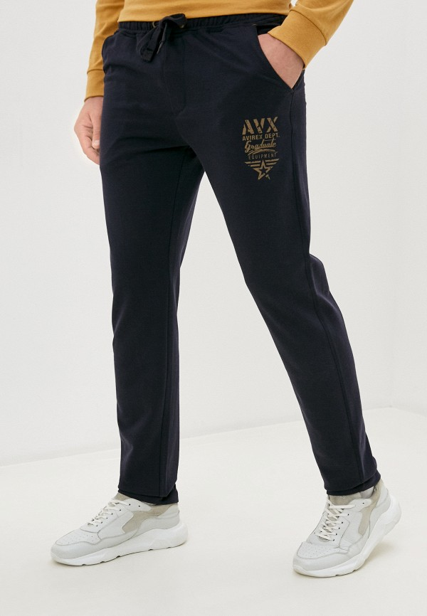 мужские спортивные брюки avirex, синие